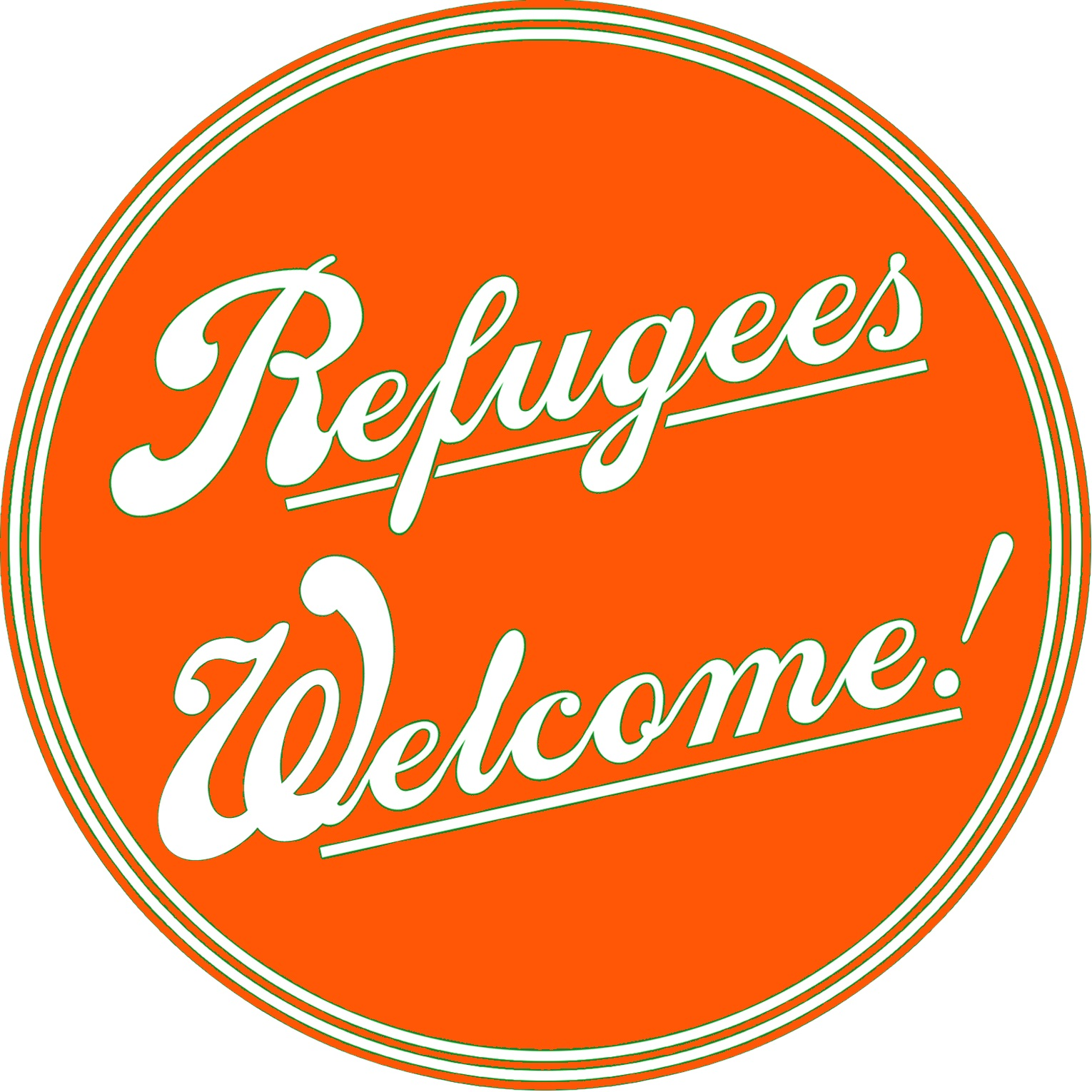 refugees welcome bearb